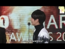 180214@ 7th Gaon Chart Awards - Winning Speech (Song of the Year for September) [