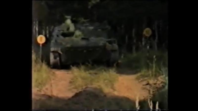 Обкатка танком, метание УПГ-8 часть 1