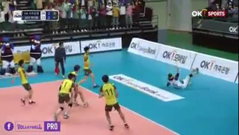 Китаец затащил. Волейбол
