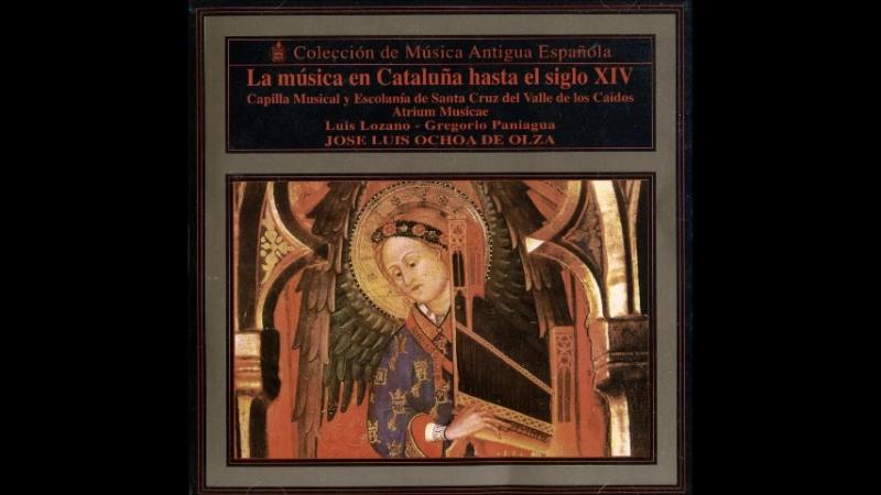 Musique en Catalogne au XIV Siecle