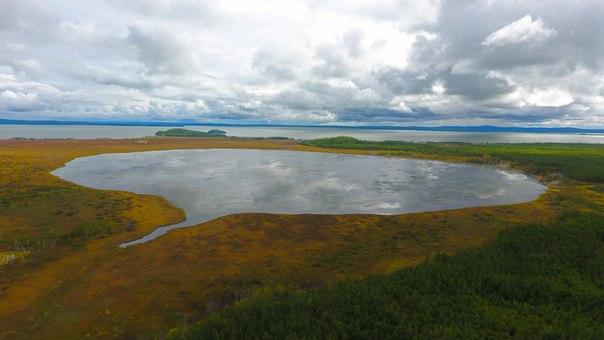 Озеро Чукчагир. Хабаровский край.Масштабы этого озера потрясают