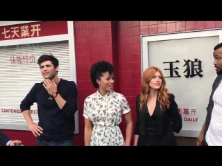 Apparently @MatthewDaddario prefers stale fortune cookies, and @isaiahmustafa might know the manager of the Jade Wolf!