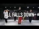1Million dance studio All Falls Down - Alan Walker  Beginners Class