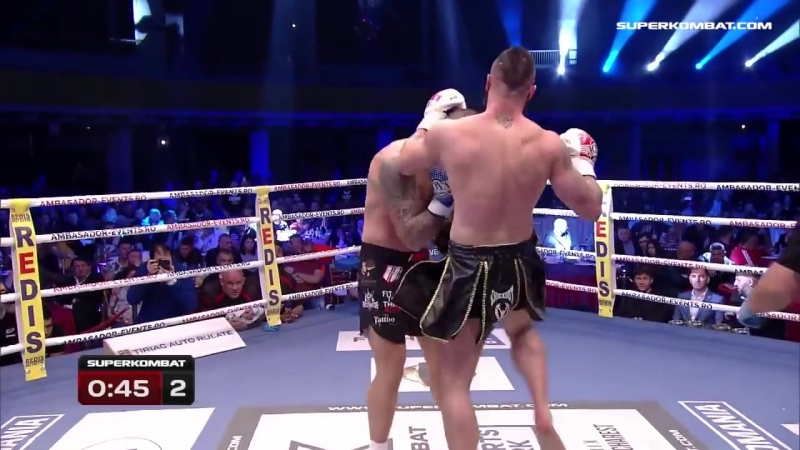 Dawid Zoltaszek vs Cristian Ristea _ SUPERKOMBAT WGP _ RomExpo _ April 7