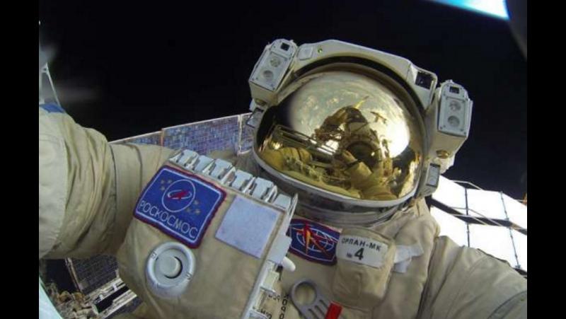 Космонавты Сергей Рязанский и Федор Юрчихин вышли в открытый космос. Были выполн