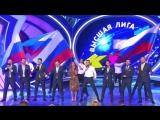 Спарта - Музыкальный фристайл (КВН Высшая лига 2017. Вторая 1/2 финала)