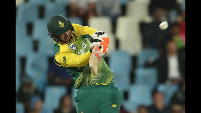 CRICKET, T20I SOUTH AFRICA INNINGS (2nd) - South Africa v India, Feb 21, 2018