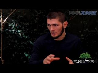 Хабиб Нурмагомедов: Медиа-ланч перед UFC 219 [русская озвучка от My Life is MMA]