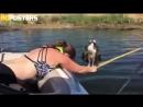 В Калифорнии девушка спасла упавшую в воду птичку и преклонилась перед ней в древнем ритуале невыцарапаймнеглаза ^_^