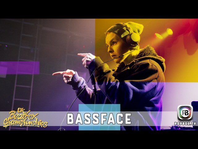 Bassface   Loopstation Elimination   2017 UK Beatbox Championships