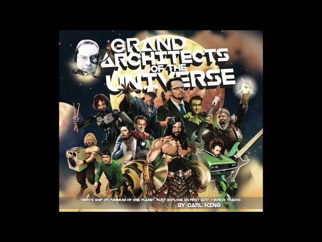 Travis Orbin - Carl King Session - 'Grand Architects of the Universe' (Preview)