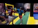 Muay Thai в Москве Работа на падах и мешках в БУЛАТ РОССИЯ