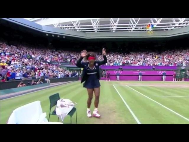 Crip Walk - Serena Williams, Snoop and Dre Dance the C-Walk at London 2012 Olympics