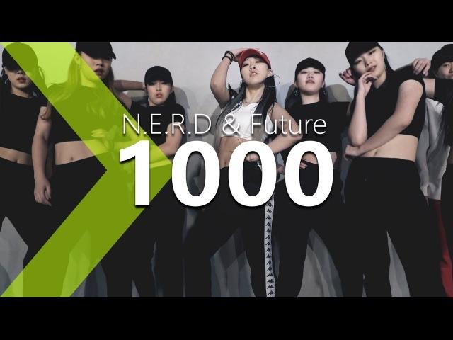 N.E.R.D Future - 1000 Jane Kim Choreography .