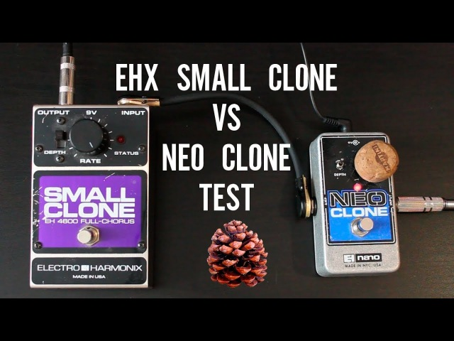 EHX Small Clone vs Neo Clone LONG Test Mooer Green Mile Big Muff Tone Wicker
