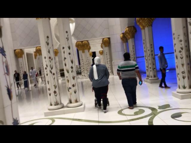Путешествия. Прекраснейшая мечеть в Абу Даби, ОАЭ 🇦🇪