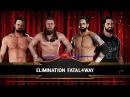 SBW Raw - Daniel Brayan vs Drew McIntyre vs Bad News Barrett vs Seth Rollins
