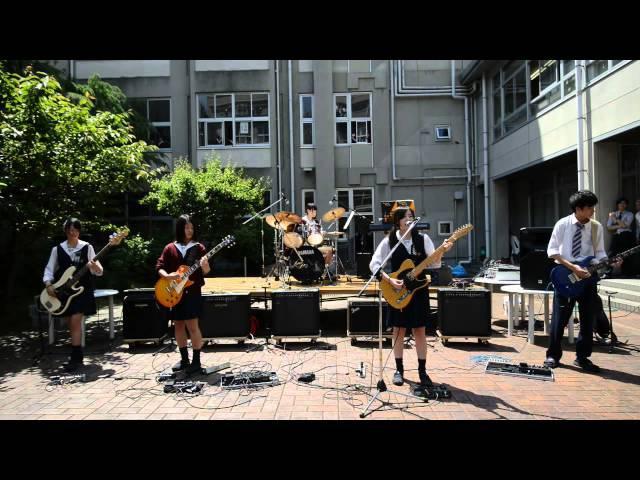 SPYAIR 『 サムライハート 』 -新入生歓迎中庭ライブ-