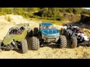 X-MAXX and two LOSI DBXL-E ~GOOD OLD SAND PIT~ 27