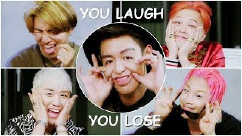 BIGBANG You Laugh = You Lose Challenge