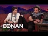 Nick Kroll &amp John Mulaney on Conan (Pt. II)