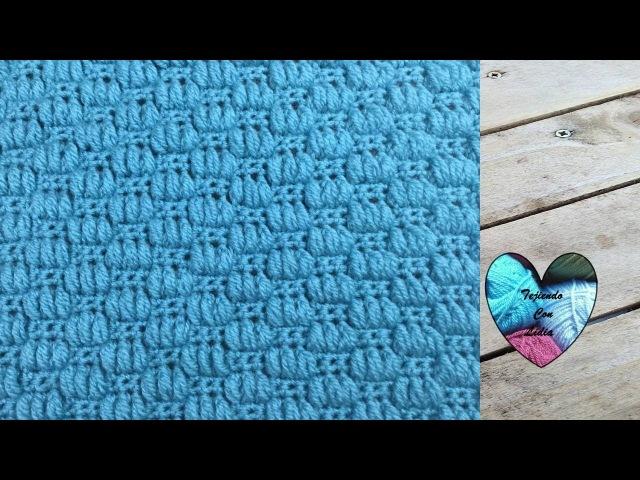 Punto en relieve maravilloso fácil tejido a crochet