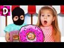 Bad Baby КУКЛА Беби Бон УКРАЛА Пончики Num Noms Вредные Детки Baby Born Doll Emily in Ice Cream Shop