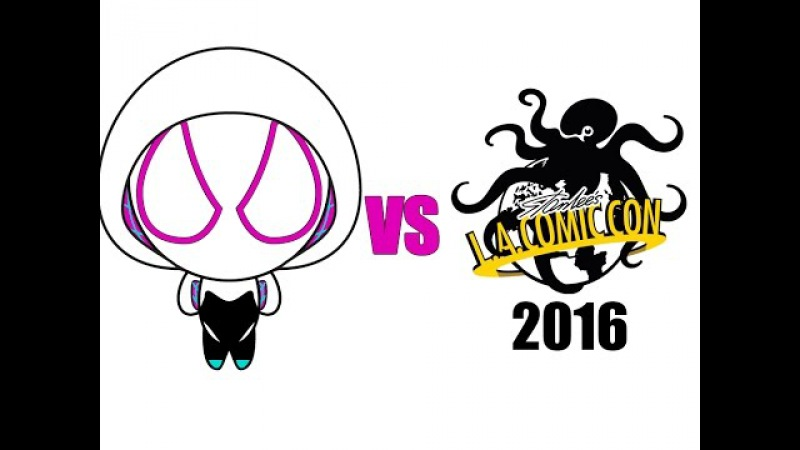 Spider-Gwen vs Los Angeles Comic Con 2016 - With Hendo Art