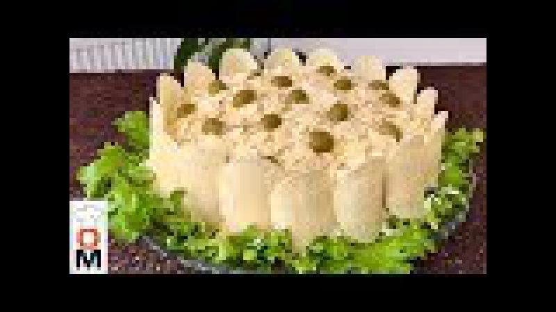 Салат Золотой Петушок   Golden Cockerel salad   Ольга Матвей