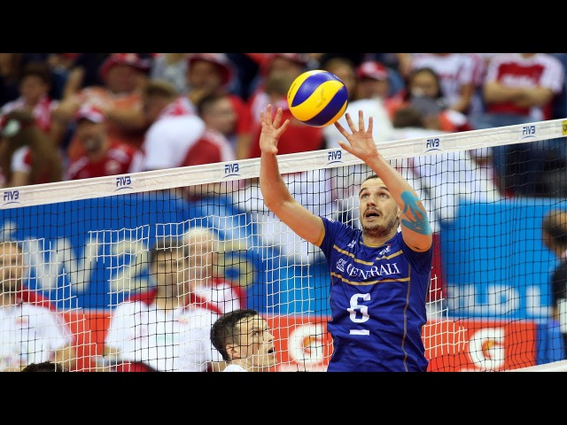 Best Volleyball Setter Benjamin Toniutti Height 6'0 ft 183 cm