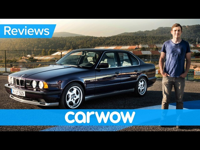BMW M5 E34 review - see why they dont make them like they used to!