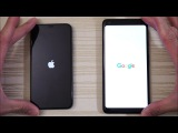 iPhone X vs Google Pixel 2 XL - Speed Test! Which is BOSS? (4K)