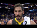 Omri Casspi Postgame Interview / GS Warriors vs Suns / Feb 12
