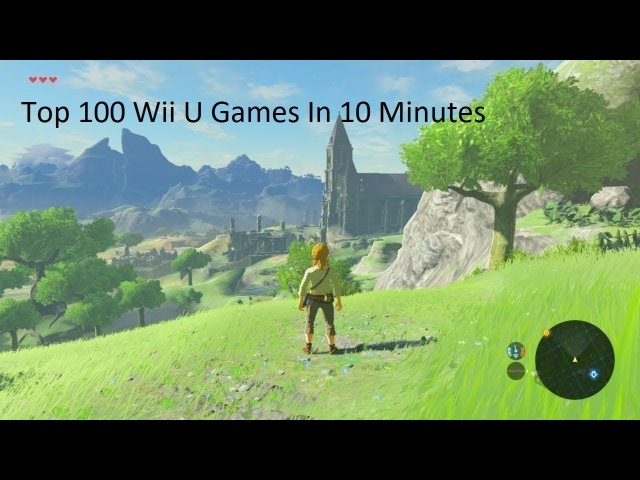 100 WiiU Games in 10 Minutes