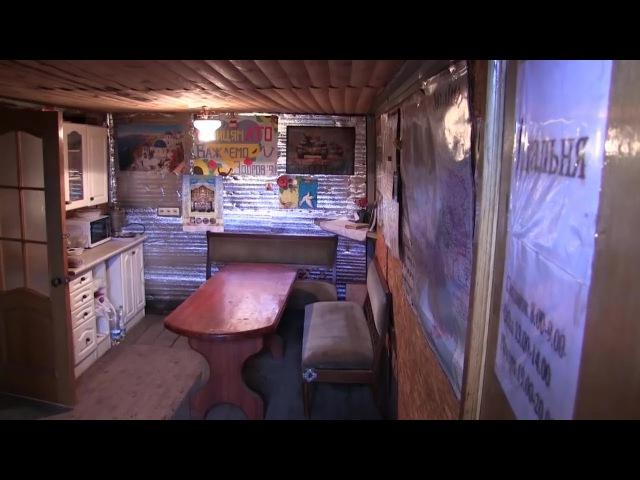18 СІЧНЯ 2018 р Побут на війні десантники облаштували собі баню та кухню