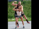 Indian Lift carry hip piggyback 33 female bodybuilding | best lift and carry