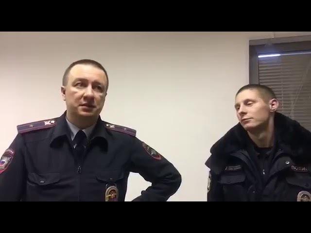 Поединок в полицейском участке (логове) за свои права: Ирина Яценко