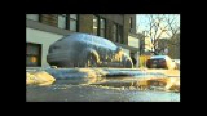Winter Woes: Car Encased in Ice