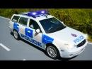 МУЛЬТИК про машинки Полицейская, Пожарная и Скорая Видео для детей 2017