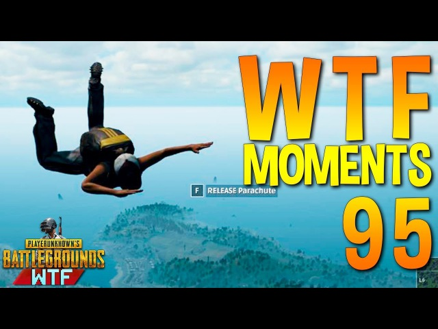 PUBG WTF Funny Moments Highlights Ep 95 (playerunknown's battlegrounds Plays)