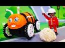 Мультики про машинки. Открываем новую ЛЕГО игрушку в мультике - сладкая конфетка...