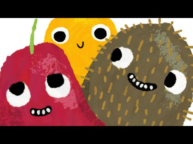 JKL * Fruit Alphabet for kids * Learn the Alphabet names of fruits * 4