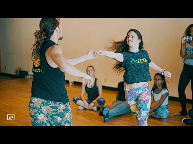 Chris Brown - Don't Judge Me - Jessica Lamdon Ry'El (Henry Velandia) - Zouk Demo in Atlanta