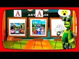 Cartoon of Kids ROBOT Transformer , Videos for children about school and drawing lessons