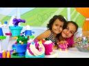 Игры для девочек! Дети играют в ПЛАСТИЛИН Плей До 🌼 поделки из пластилина! Много...