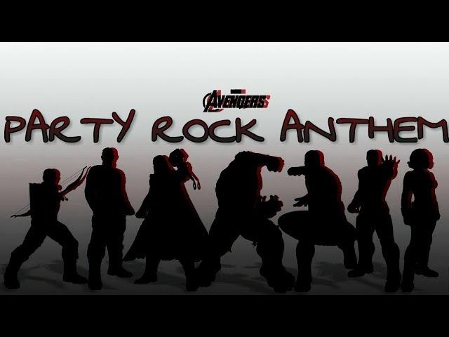 LMFAO — Party Rock Anthem / Avengers / Мстители /