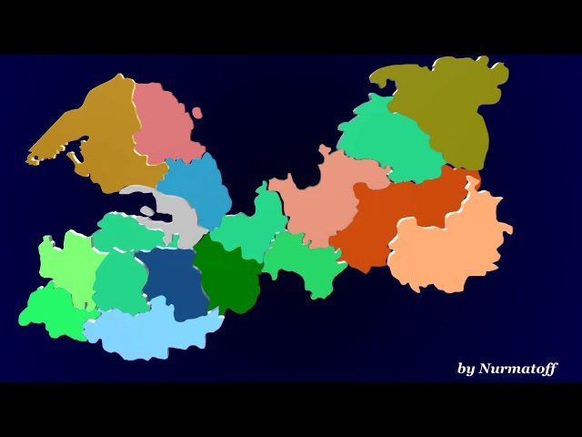 3D карта СПб и ЛО для ООСМР ЛО RAM