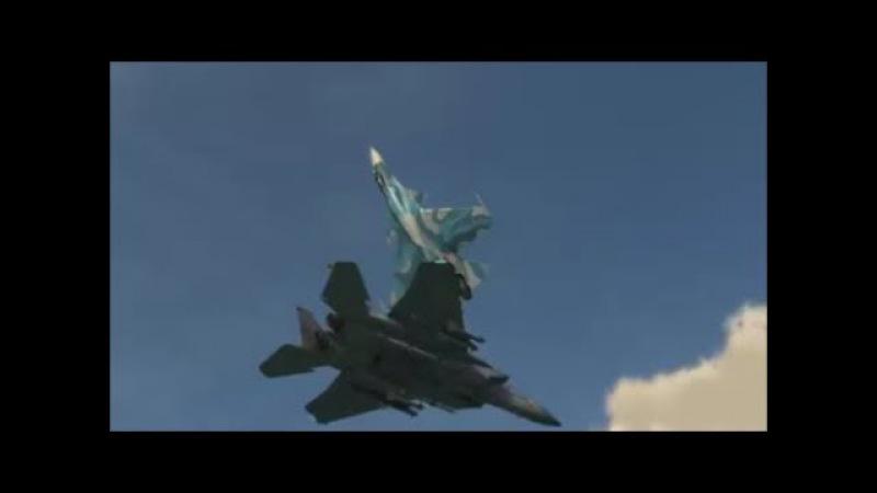 Russia's Sukhoi Performs Fantastic Cobra Manoeuvre (Pugachev's) Vs. Kvochur's Bell Manoeuvre.