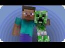 Baby Creeper Minecraft Animation