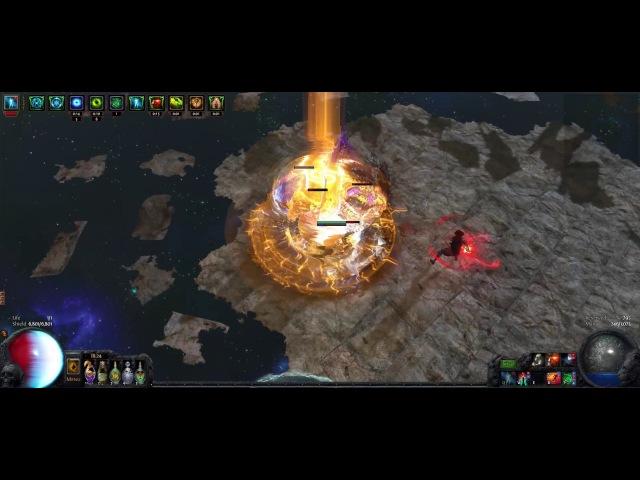 [2.6] Terminus Flicker Strike Shaper Kill(Not Poison Build)
